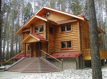 Современное деревянное зодчество