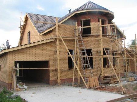 Строительство усадьбы