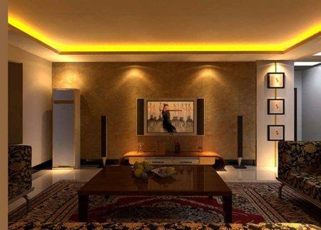 Светящийся потолок, как основное освещение