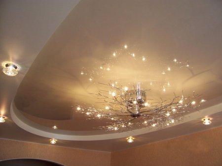 Виды и достоинства подвесных потолков
