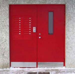 дешевые металлические двери для подъезда