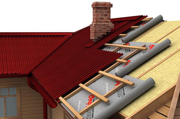 Утепление скатной крыши, основные задачи