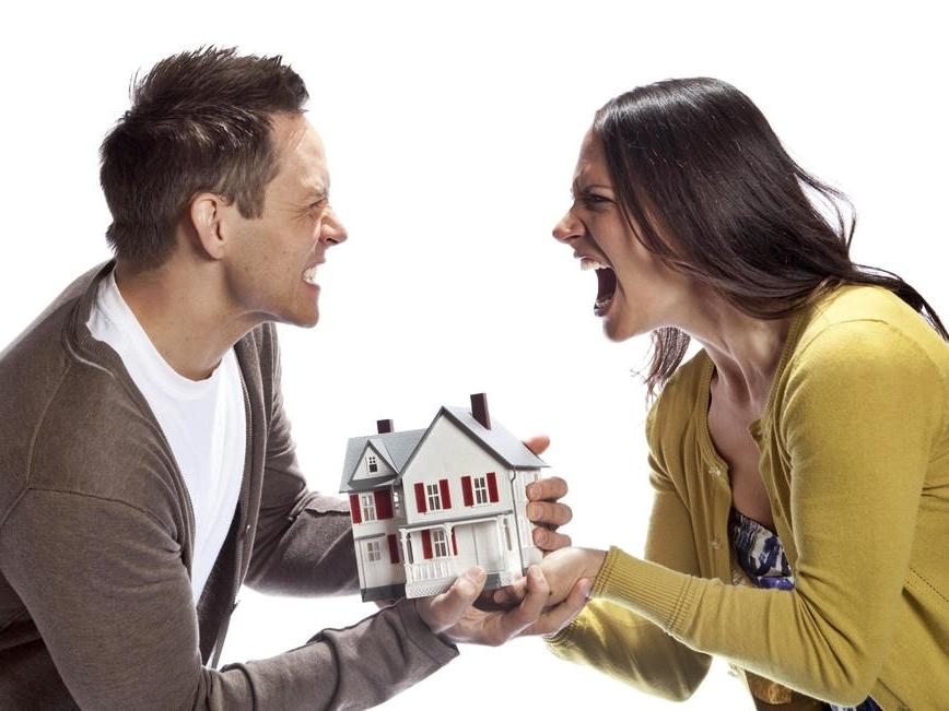 Самые большие разногласия при разделе имущества