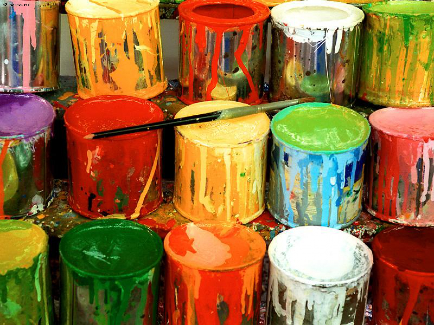 Акриловые краски и области их использования
