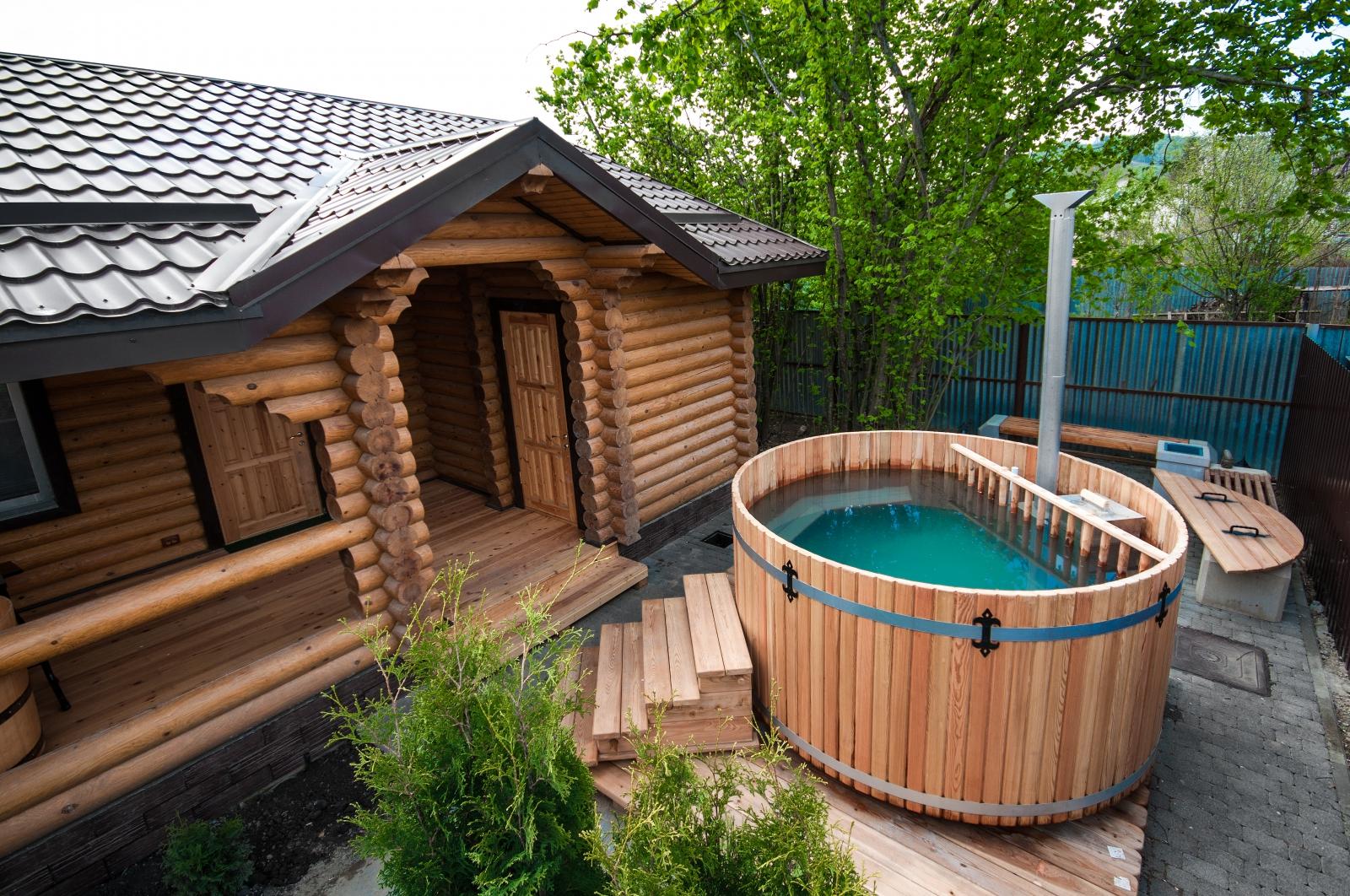 Что необходимо для дачного отдыха: дом и баня