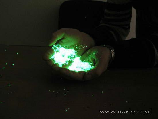 Концепция лакокрасочных продуктов с подсветкой