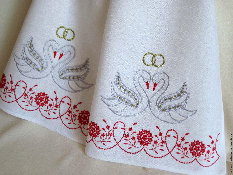 Свадебный рушник: сколько их нужно на одно торжество?