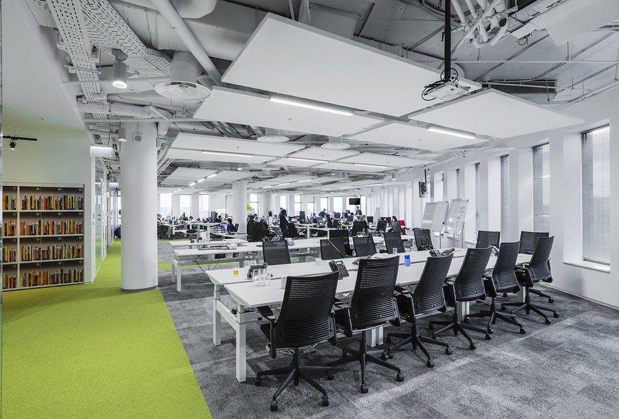 Современные подвесные потолочные конструкции с подсветкой