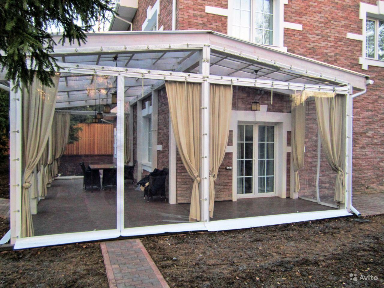 Изменяем фасад дома: терраса или зимний сад