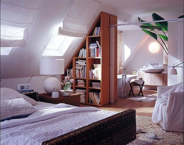 Как преобразовать мансарду в спальню
