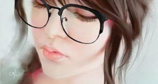 портрет для рисования_девочка