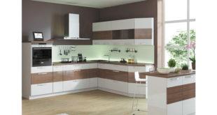 кухня с панорамным окном
