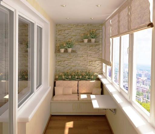 Выбираем материалы для внутренней отделки балкона